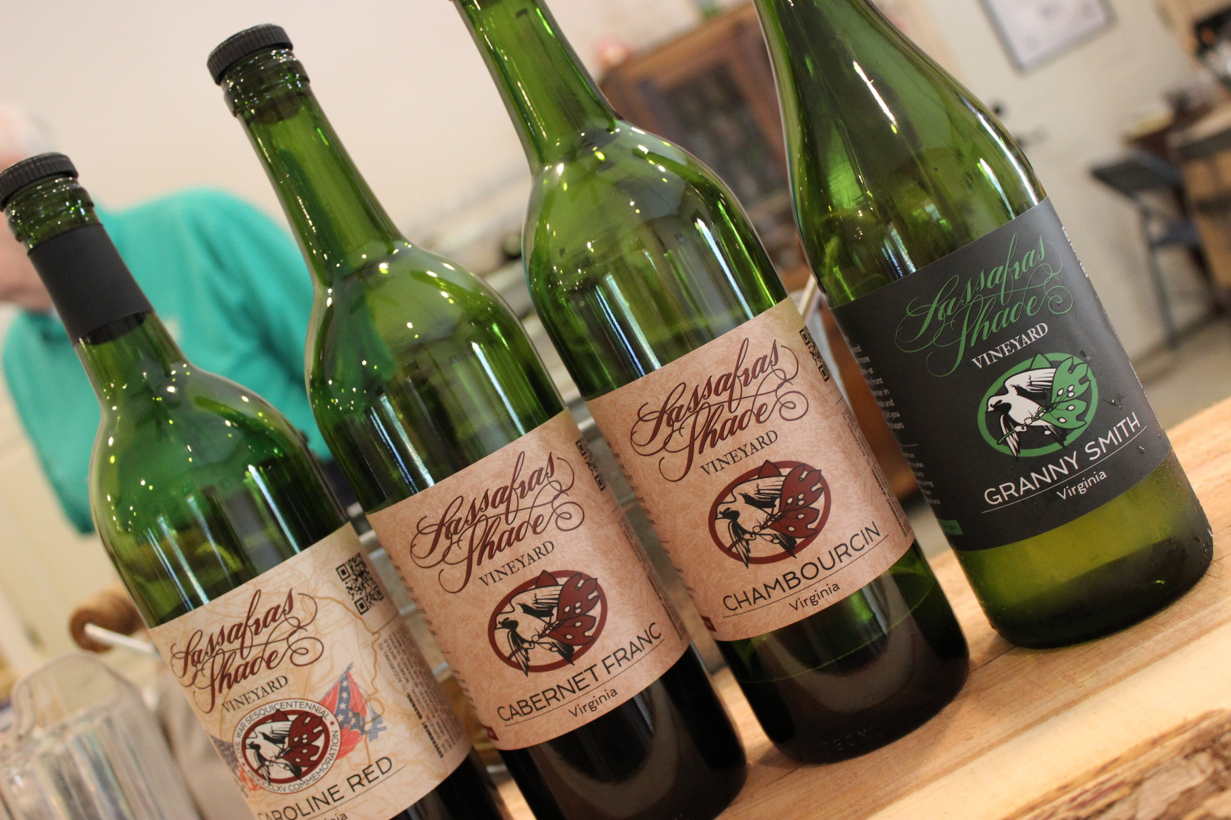 Sassafras Shade Vineyard
