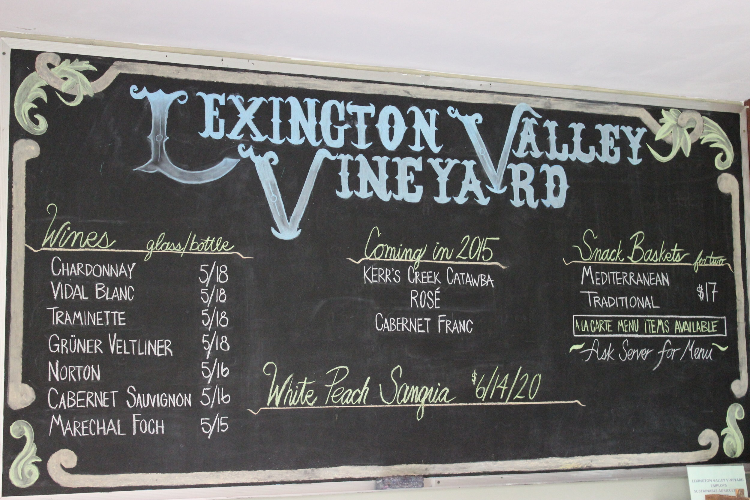 Lexington Valley Vineyard