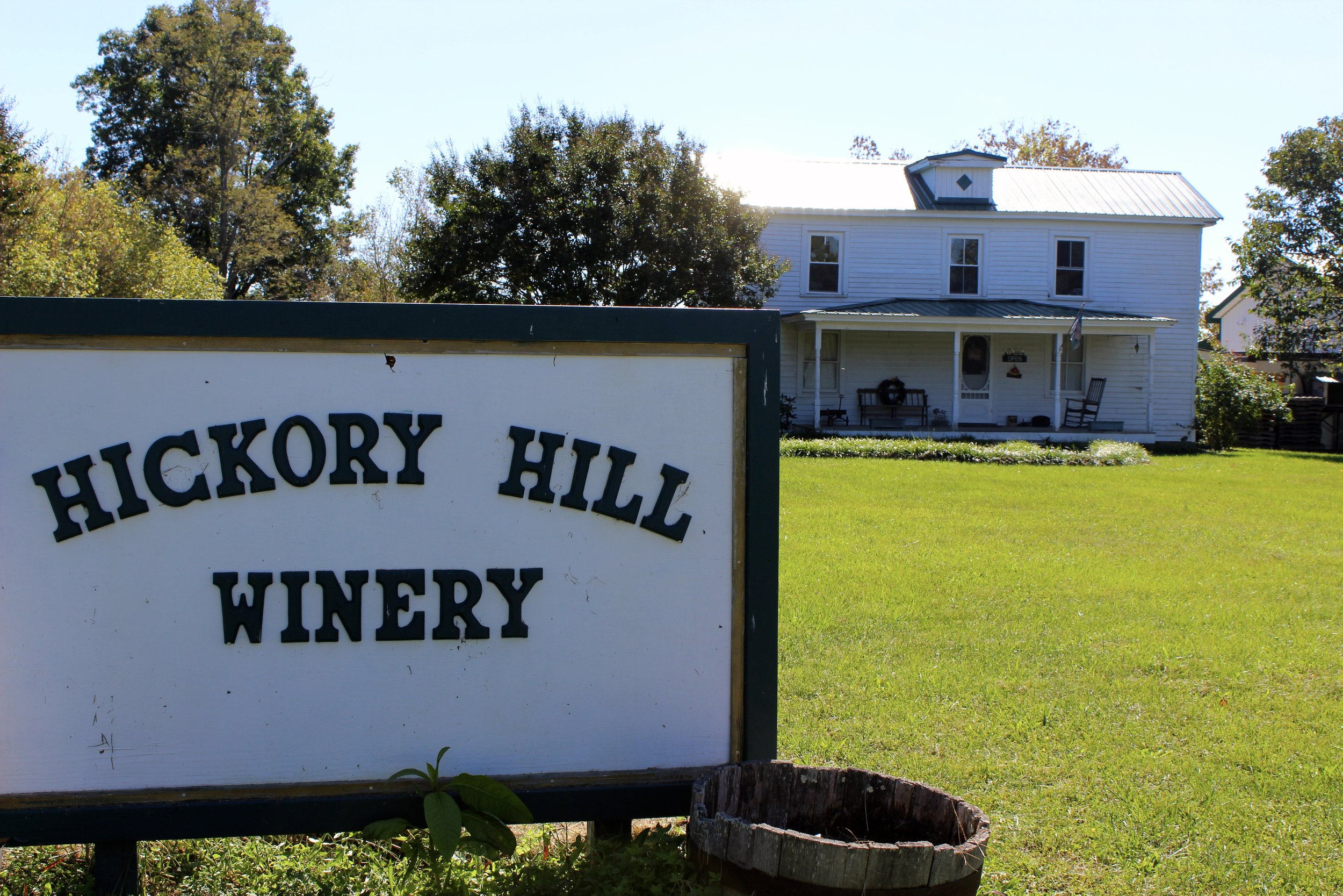 Hickory Hill Vineyards