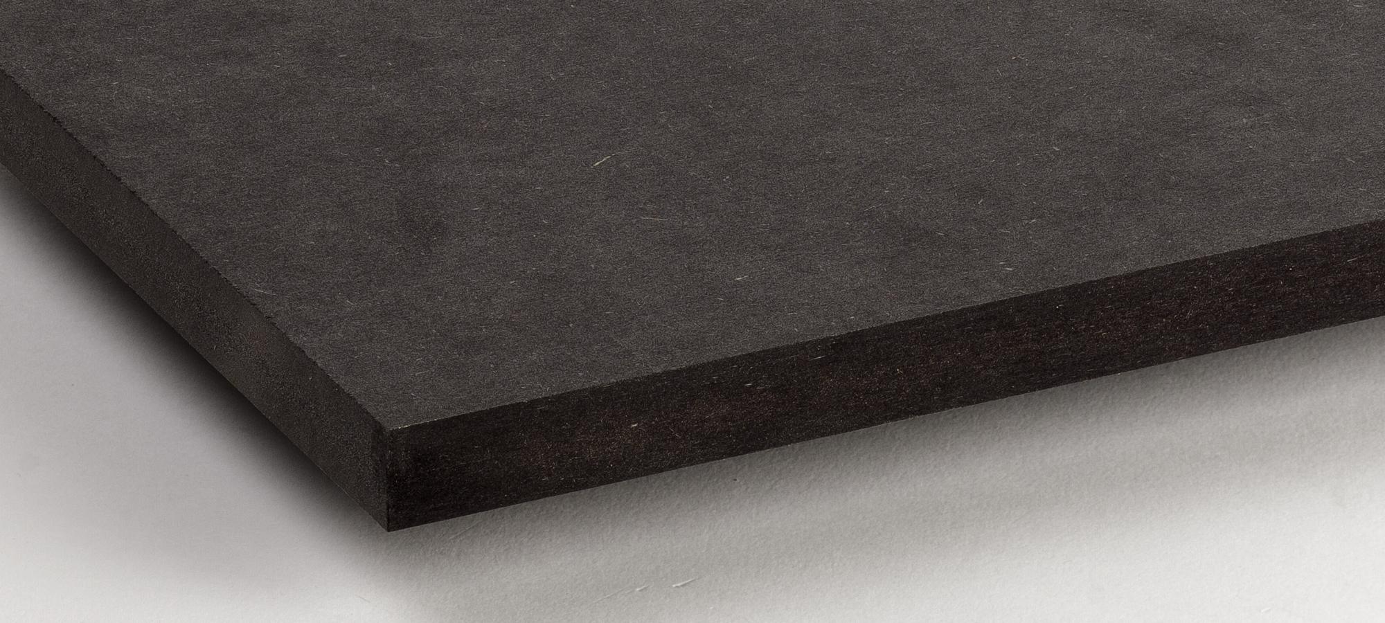 DM Coloreado Negro - Grosores desde 10 hasta 30mmMedidas: 2440x1220 / 2850x2100 / 3050x1220Precios CARB-2 desde 8,95€/m2Precios Ignífugo desde 17,96€/m2