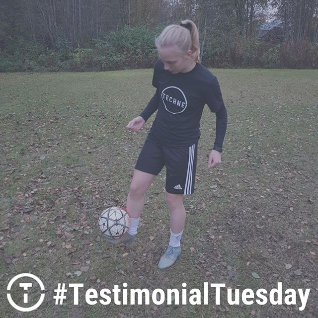 """#TestimonialTuesday: Louice Lang (Sweden) - """"I love how Techne helps me to structure my training sessions and how I can track my progress over time. It makes it easier to train on my own and it motivates me to improve daily. Techne has helped me a lot in just a short amount of time and I can't wait to see what I'll be able to achieve with continuous use. It's exactly what I've been looking for to get my technique to the next level so I can become the player I want to be."""""""