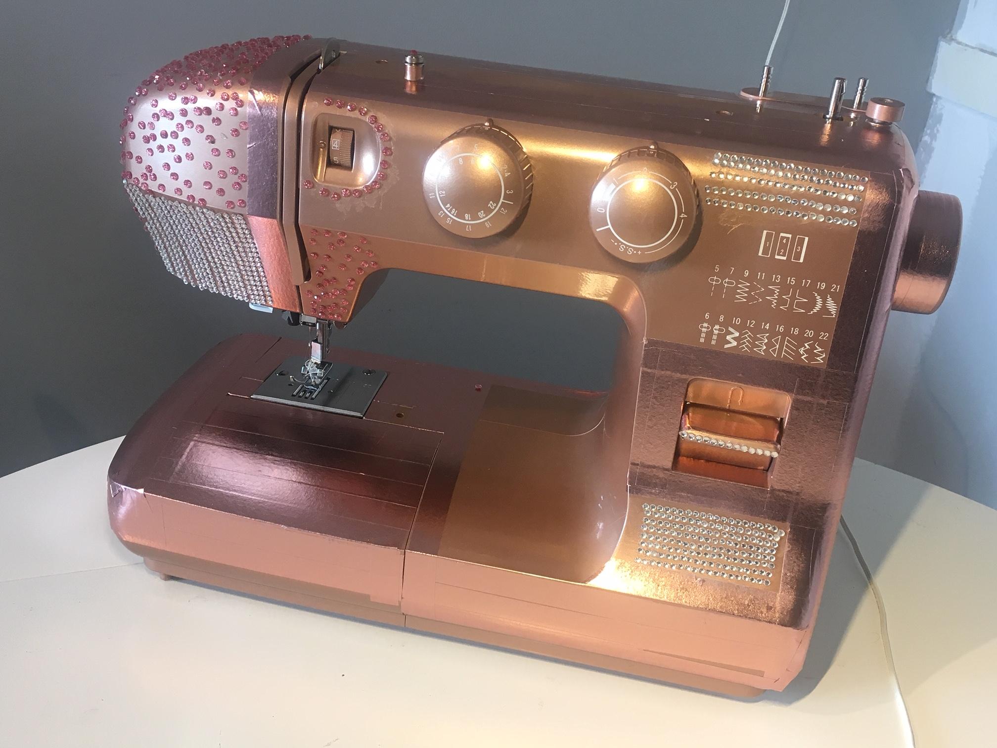Glitzy machine.JPG