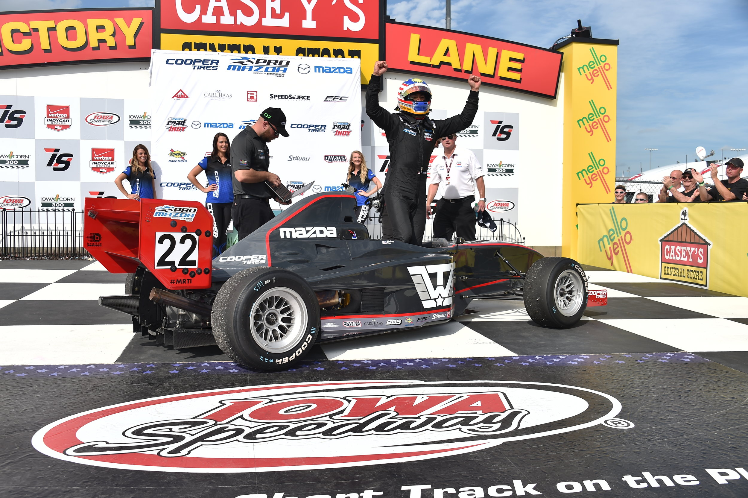2015 - Pro Mazda Winterfest - 2ndPro Mazda Championship - 4th*First Malaysian in HISTORY to win a race in the USA