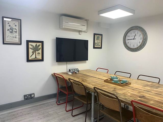 Remember that even if you are not a member with us, our private boardroom is available to hire for just £40+VAT an hour (tea, coffee & cake included!) Give us a call today to check availability 📞