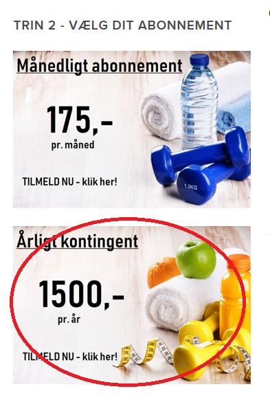 - Gå på Morudfitness.dk/tilmelding og vælg det abonnement du vil skifte til.