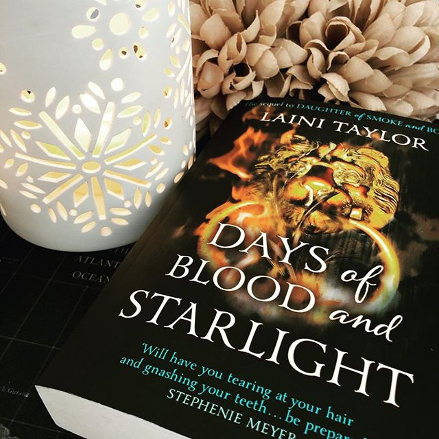 Moved onto Days Of Blood And Starlight the second in the Daughter Of Smoke And Bone series. I'm 100 pages in and so far it is a little better than the last one but not much. . . . . . #readinglover #reading📖 #instareading #read #reader #readersofig #readerlife #readersofinsta #readingaddict #instareading #bookstagram #book #bookworm #bookobsessed #bookaholic #booknerds #booklover #bookaddict #booknerd #booklife #bookstagrammer #booksofinstagram #booksofig #books📚 #daughterofsmokeandbonetrilogy #daysofbloodandstarlight #lainitaylor