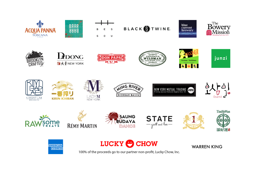 A portion of the proceeds will be donated to our lucky non-profit partner, Lucky Chow, Inc., which fosters awareness in global Asian communities by using Asian culinary culture to explore the diversity of the Asian experience.