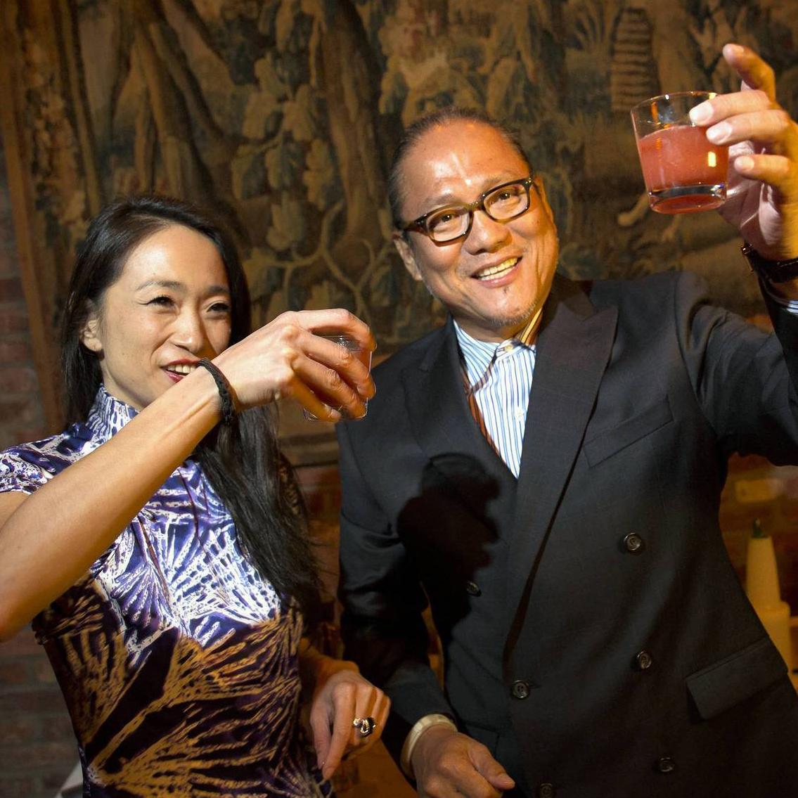 Danielle Chang and Masaharu Morimoto
