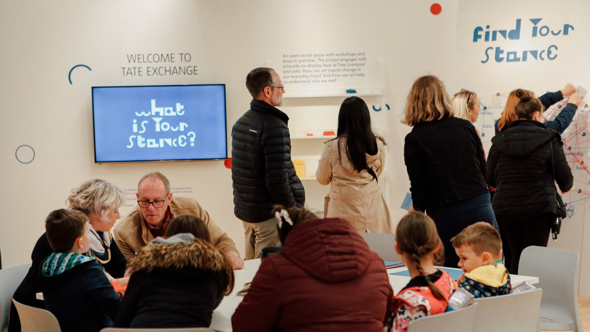 WHAT IS YOUR STANCE?  Tate Liverpool