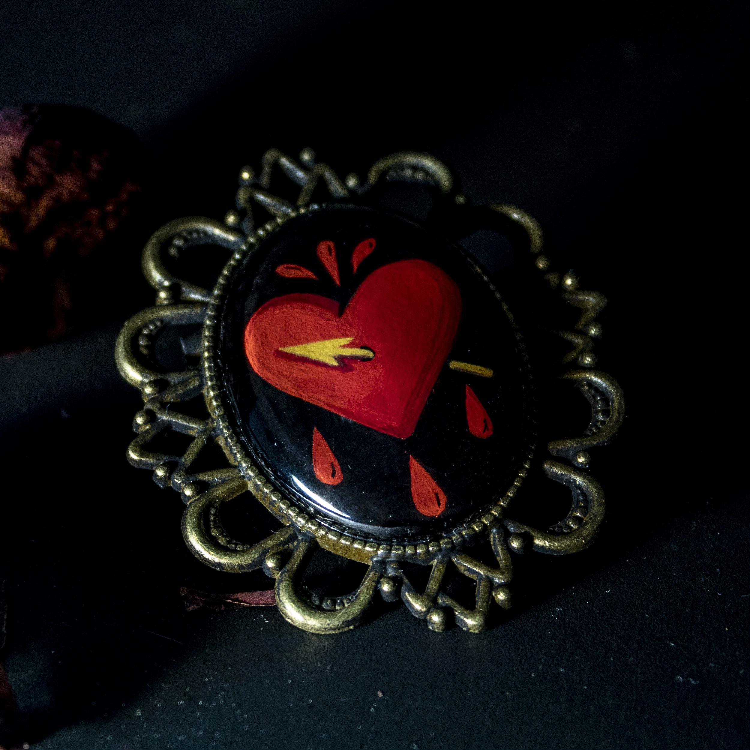 heart drip brooch.jpg