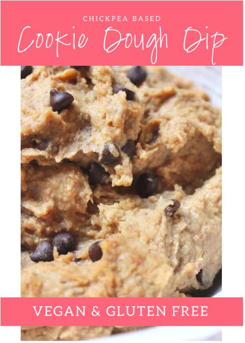 cookie dough dip vegan gluten free