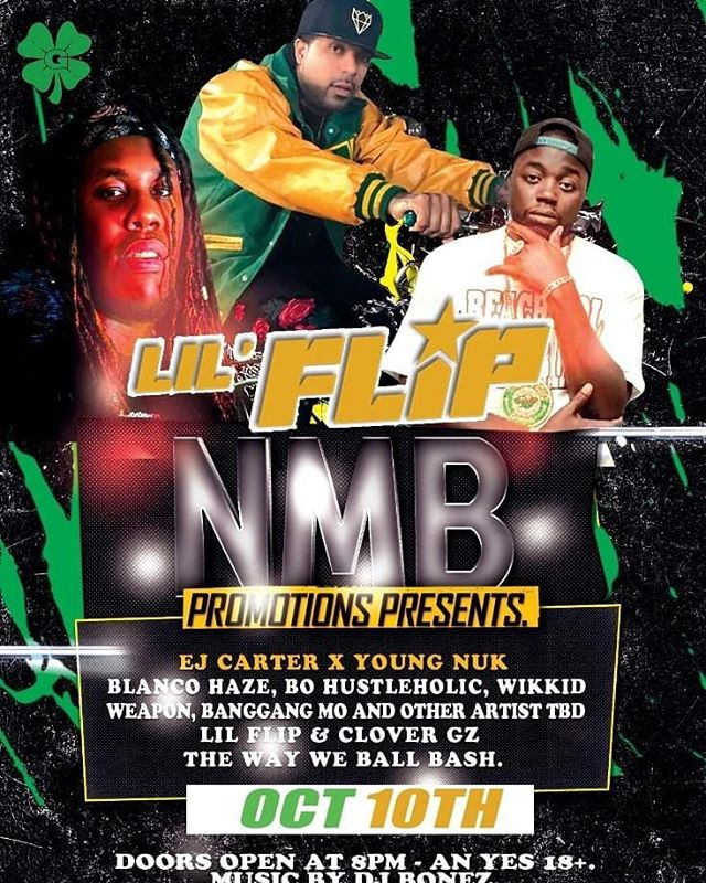 Its lit bitch. #OCT10th #lilflip #youngnuk #welivebaby #fargo #party