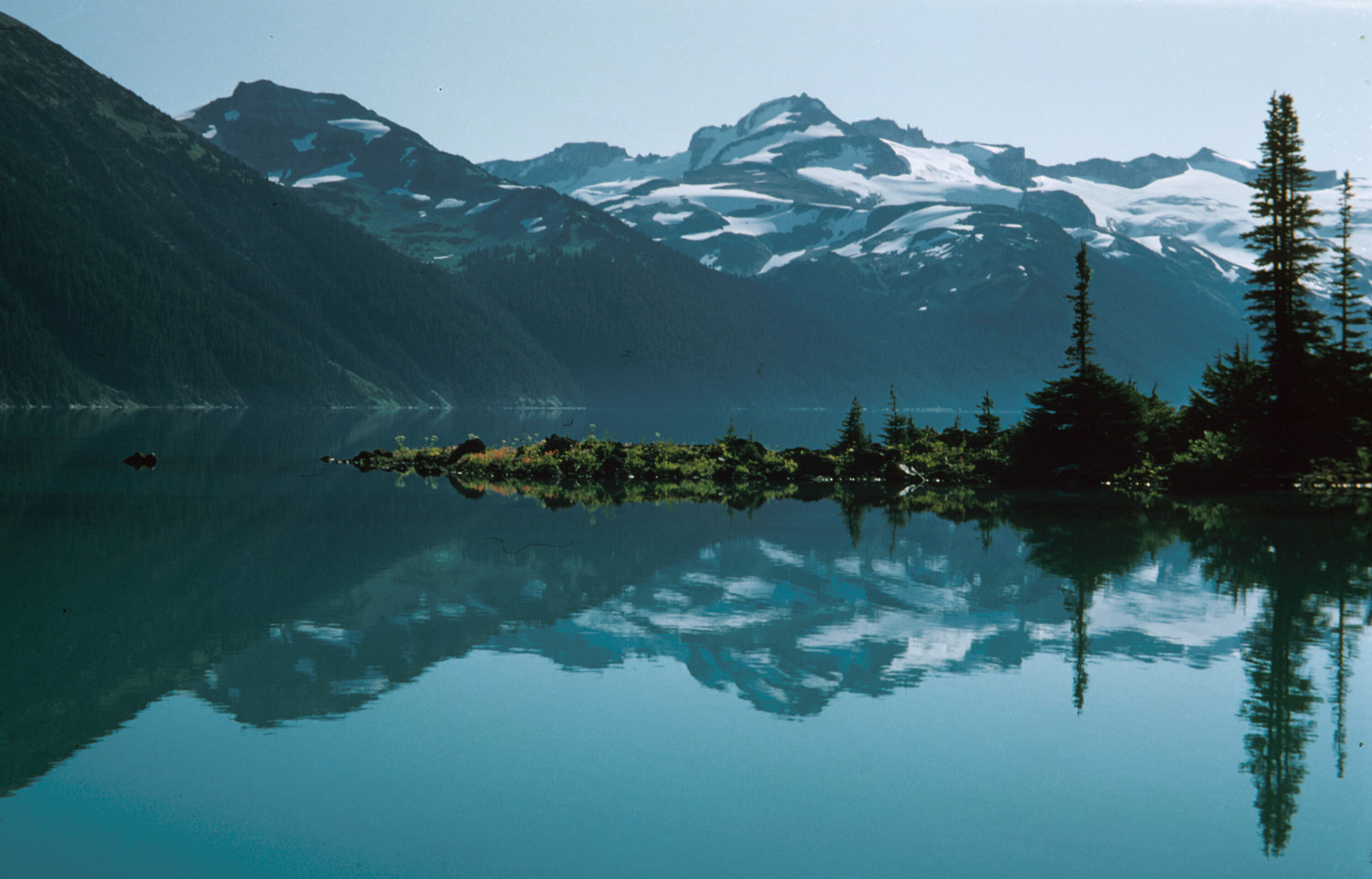 The pristine waters and majestic mountains of BC get me excited for the adventures of the summer.