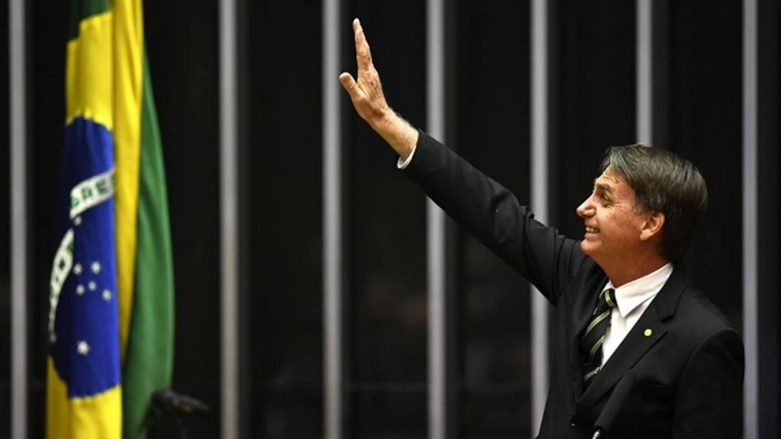 Brazil's President Jair Bolsonaro's views align closely with those of President Trump.