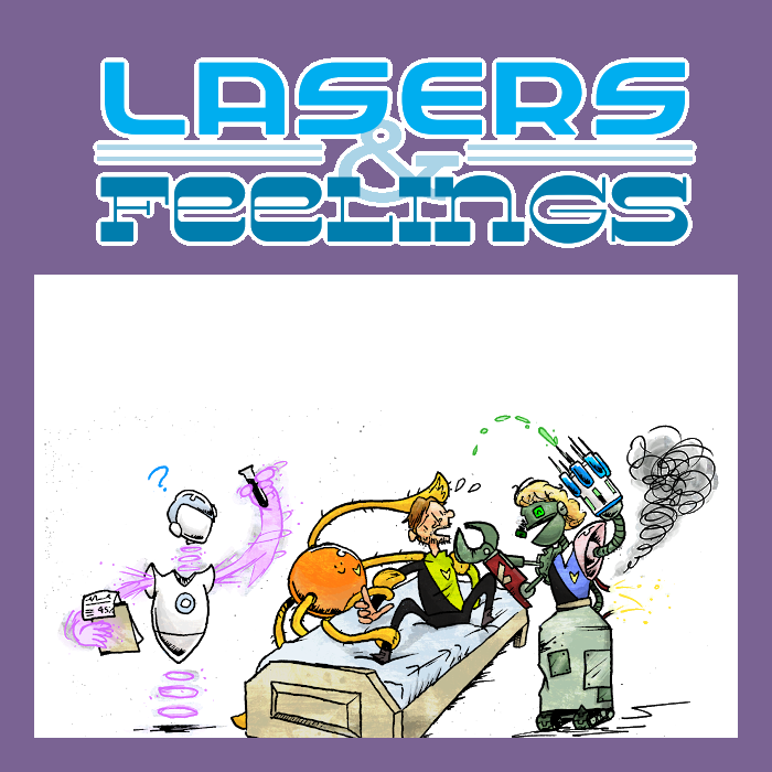 Lasers & Feelings - Bonus Feat 9 and Bonus Feat 23.Nothing ever goes smoothly for the crew of the Raptor. They boldly go where many have gone before, and try to do better.