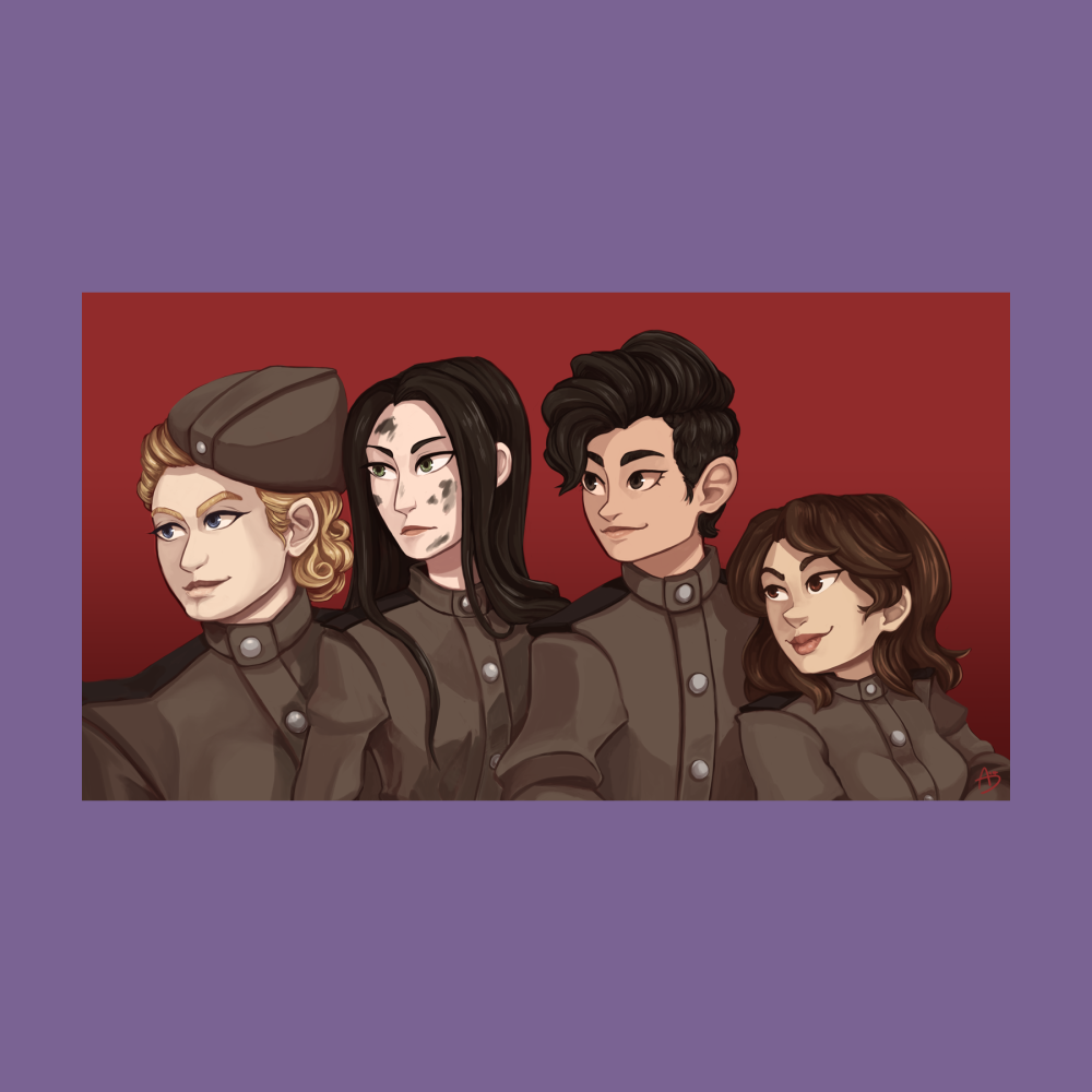 Night Witches - Bonus Feat 13.Stories of love and loss in the real-life 588th Night Bomber regiment that terrorized the Nazis.