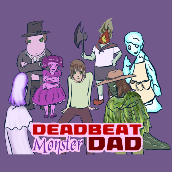 Deadbeat Monster Dad - Bonus Feat 28.Time to meet the weirdest estranged family you've ever seen.Six young monster siblings, all with different mothers, are on a quest to find their weird bad dad.And once they do...