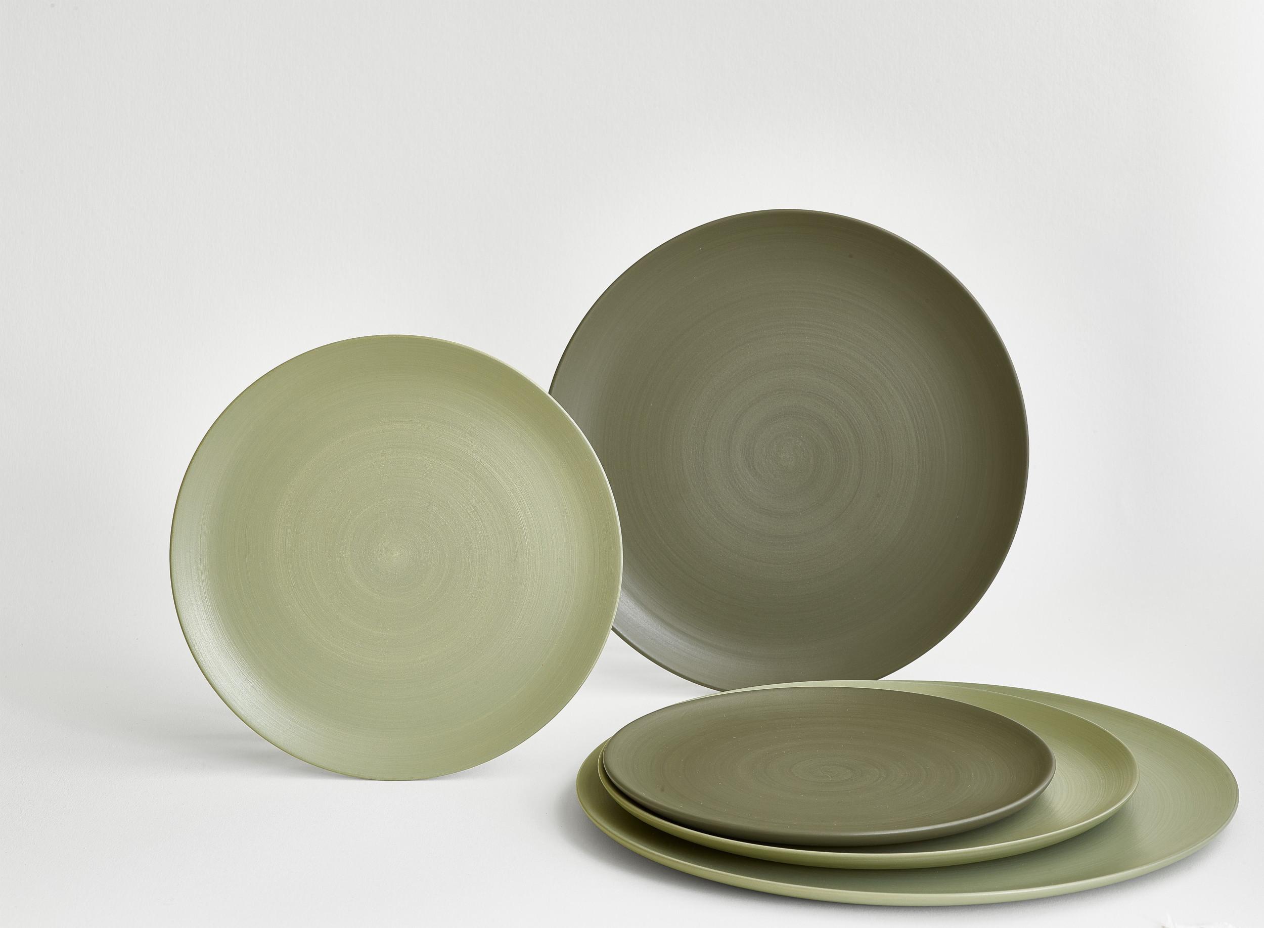 plates premium mori luxury ceramic green