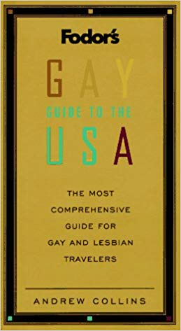 The first edition of Fodor's Gay Guide to the USA, 1996