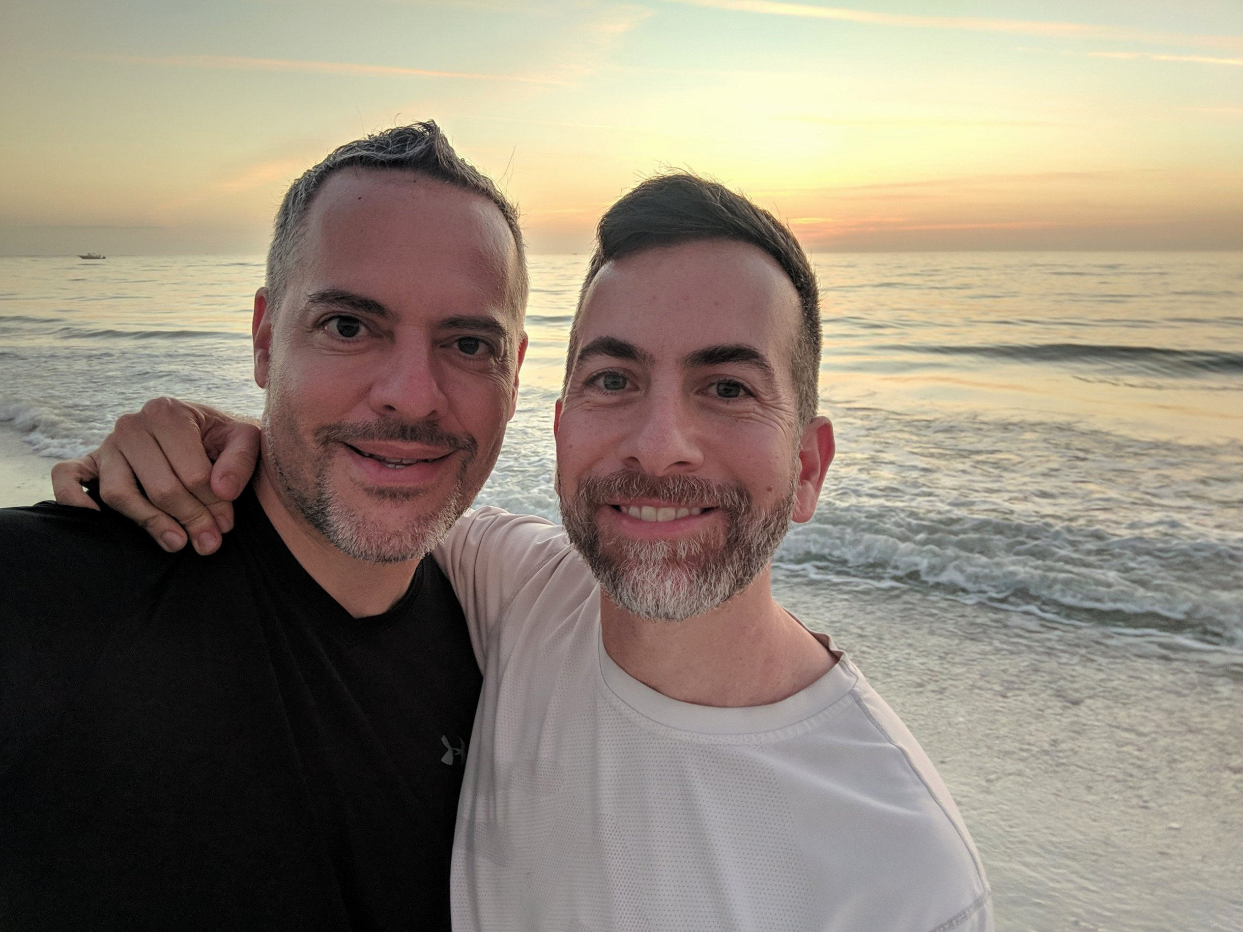 Me (on the left) and Fernando, the final day of 2018