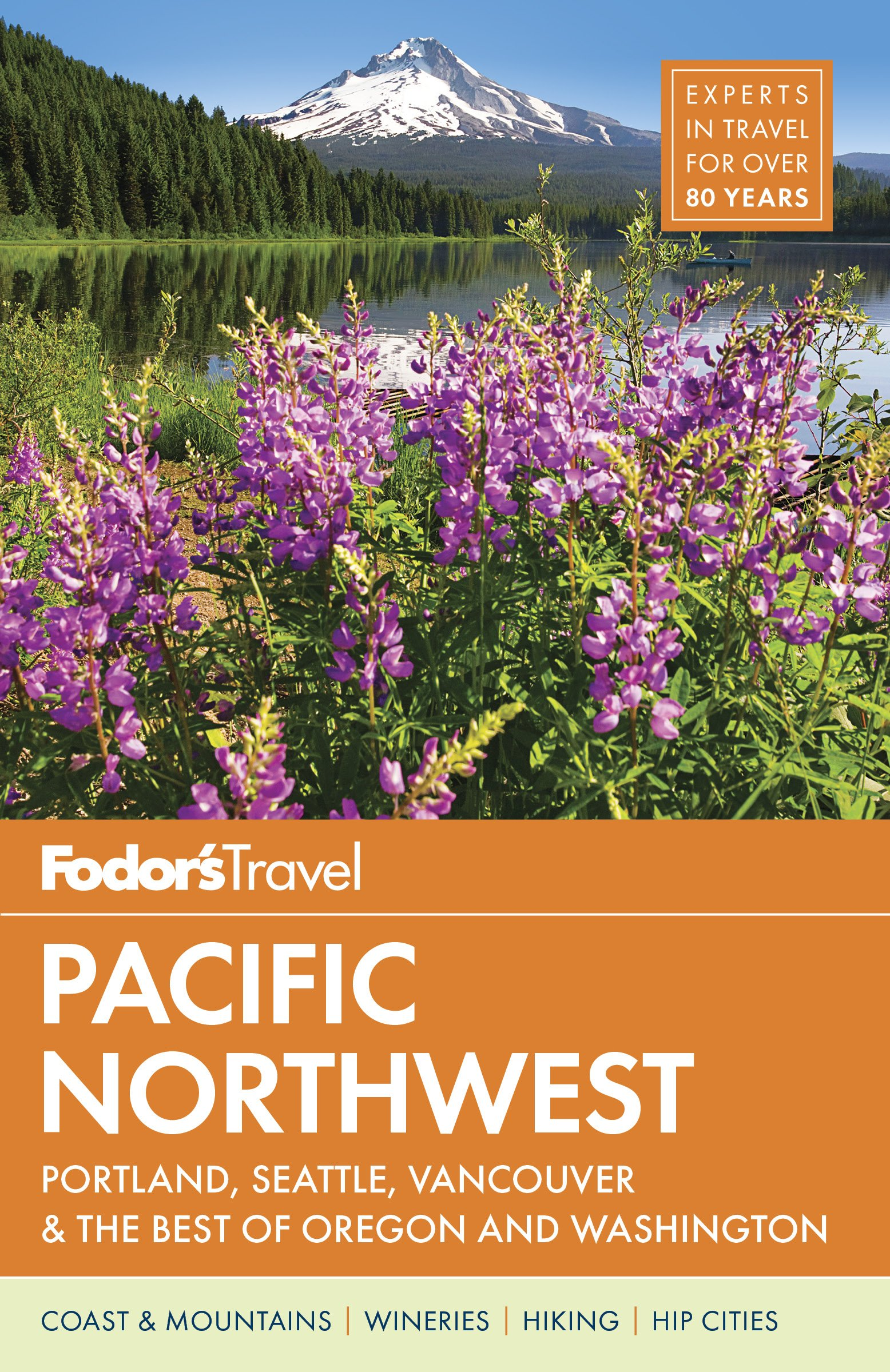 The Pacific Northwest guide, one of several Fodor's titles I currently contribute to