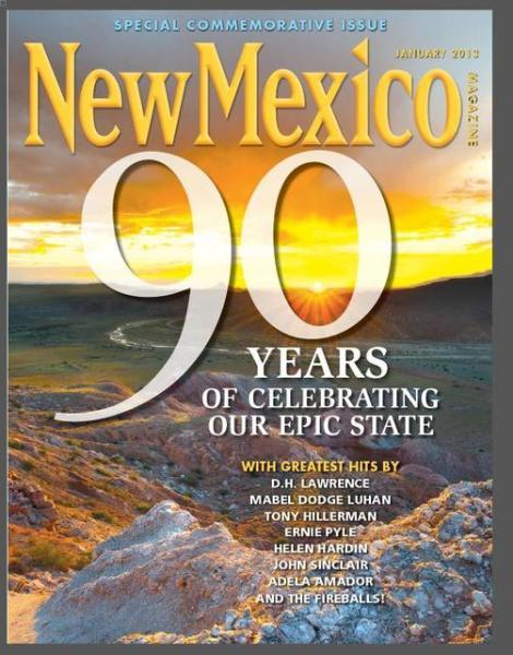 I've been writing for New Mexico Magazine since 2002, back when I lived in Santa Fe, and for several years I served as the magazine's copy editor.