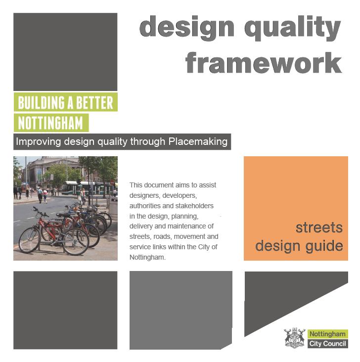 Design Quality Framework – Streets Design Guide
