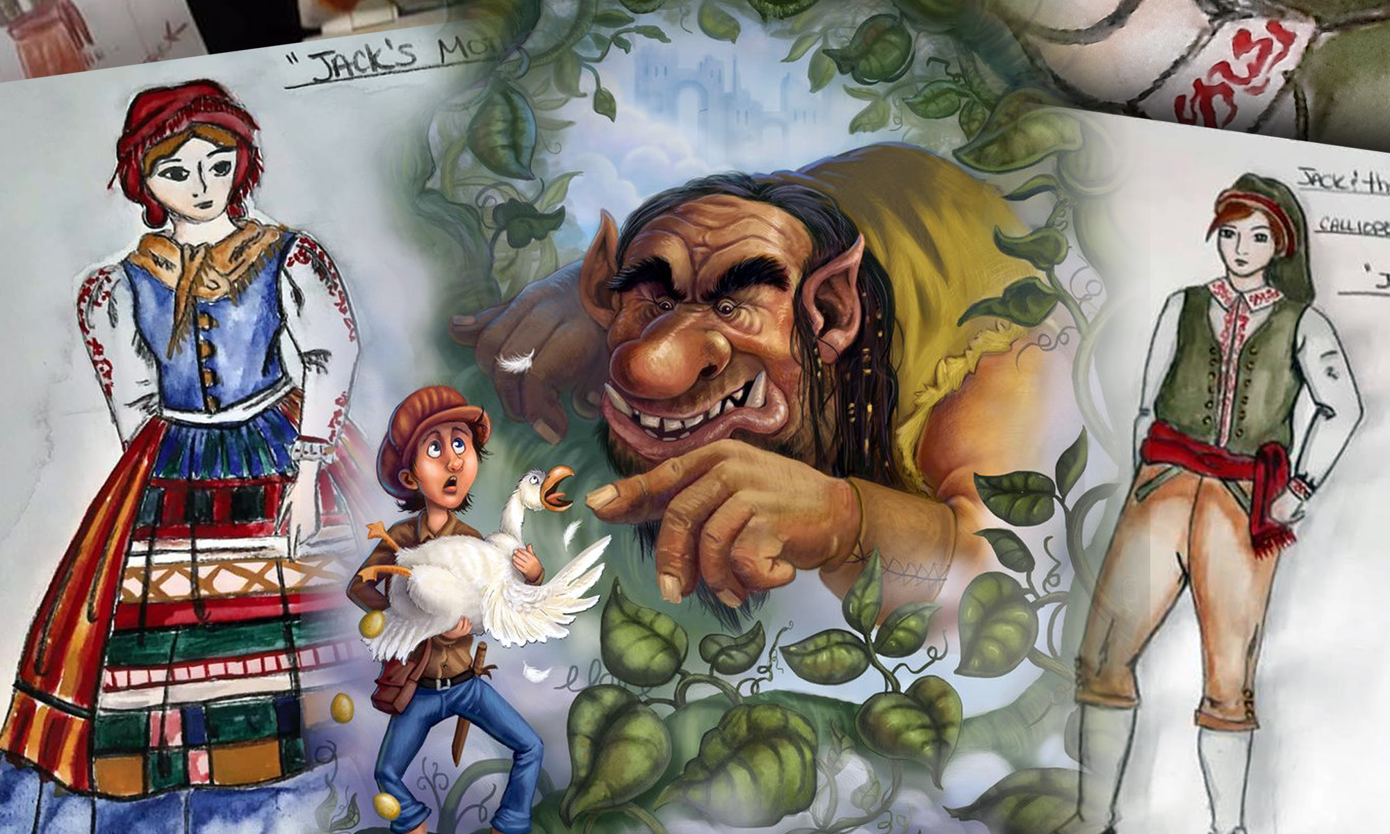 JACK and tHE BEANSTALK - Ages 5-9