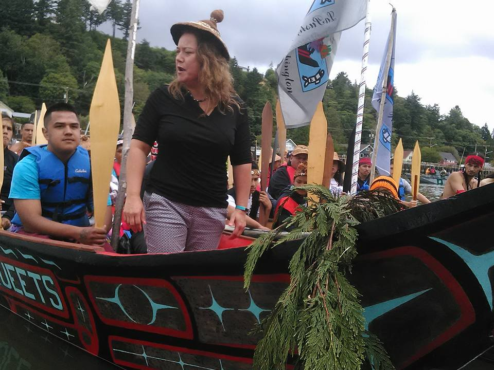 Fawn Sharp President Quinault Nation. Photo by Marles Black Bird