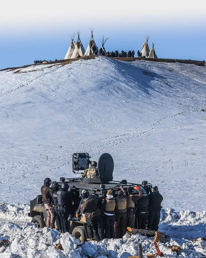 The eviction of Last Child Camp #NoDAPL