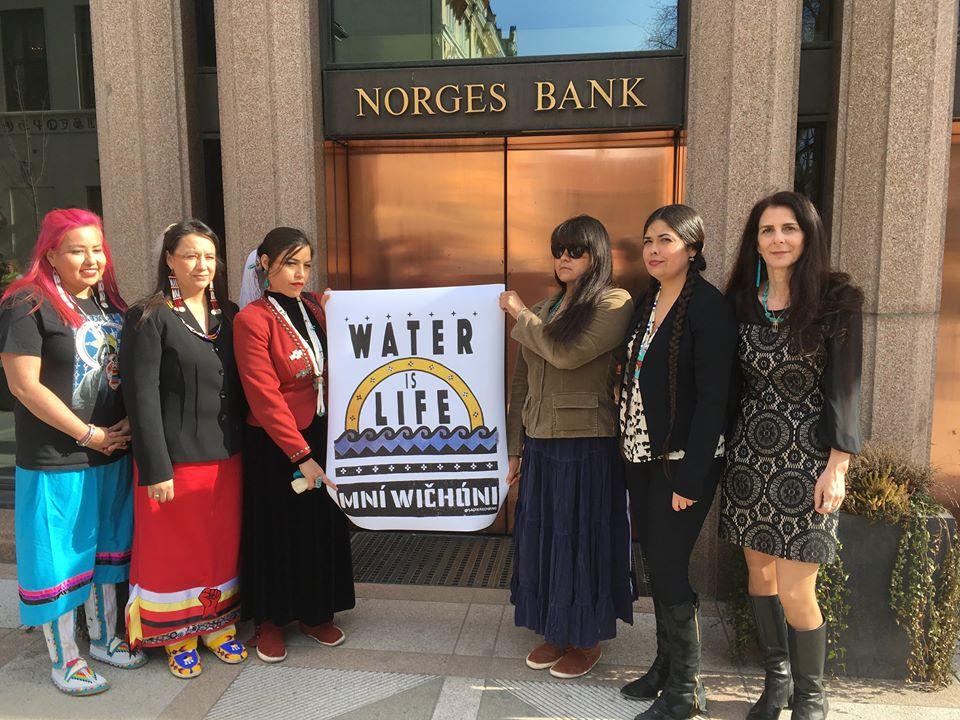 #DivestTheGlobe Indigenous Women's Divestment Delegation