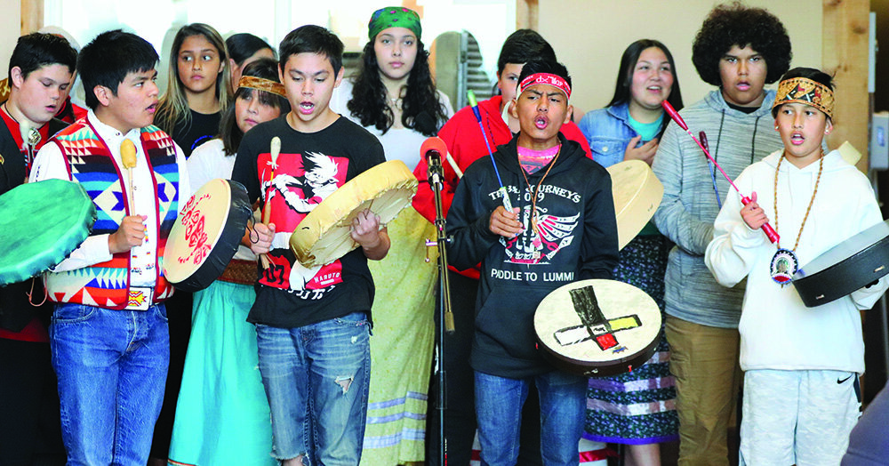 Tulalip Tribes Youth council photo by Michael Rios