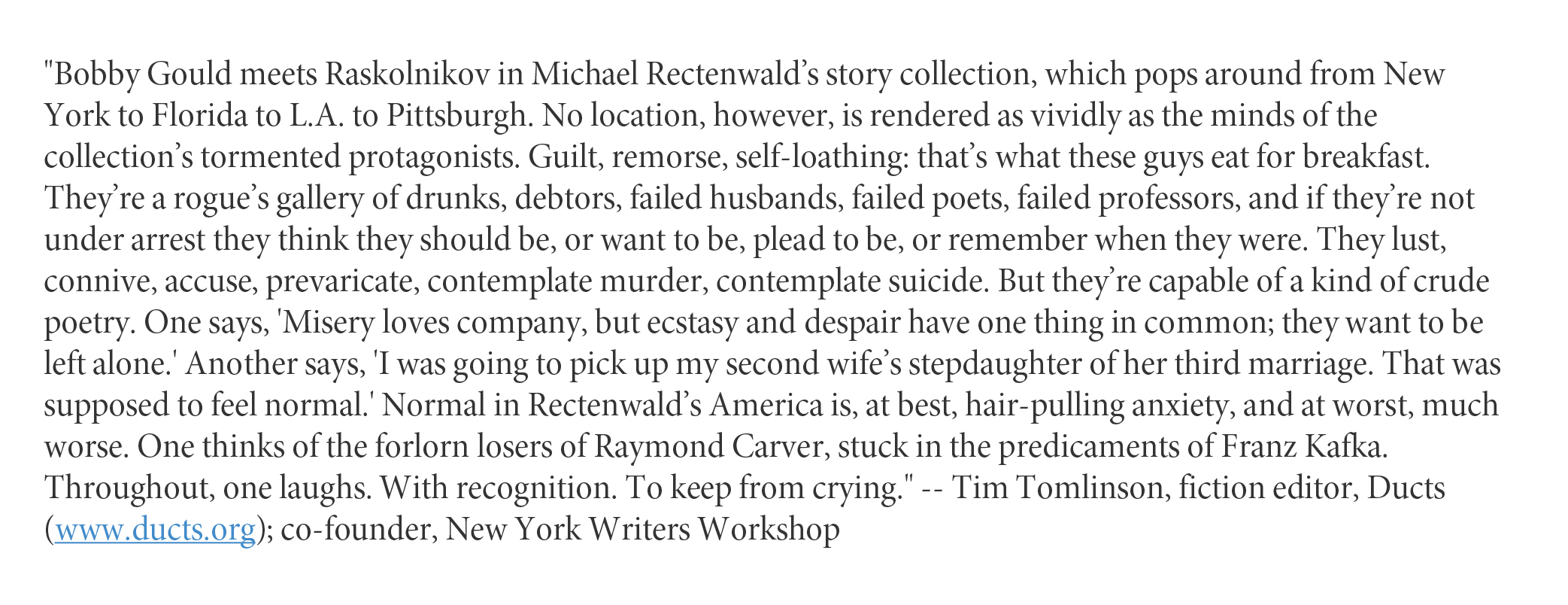 The Thief and Other Stories - by Michael Rectenwald