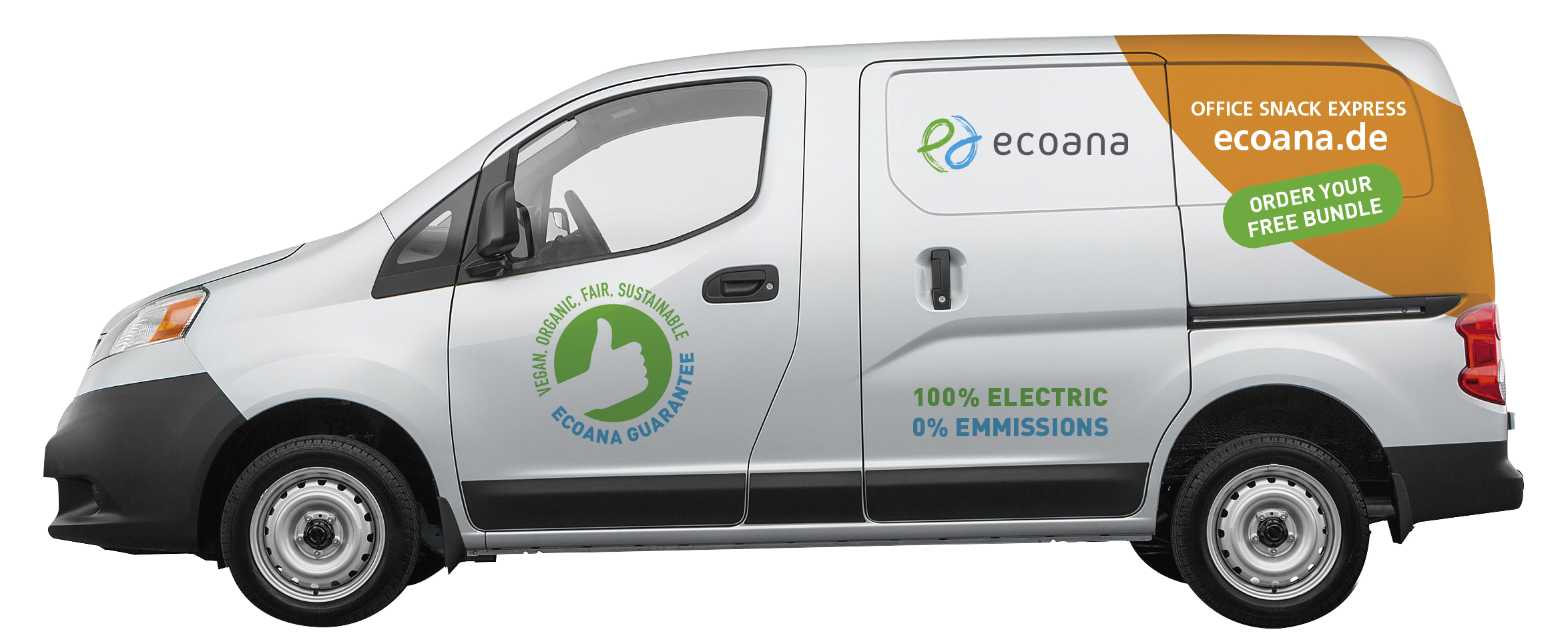 Ecoana electric car fleet changes everything - Now on the road in Germany!