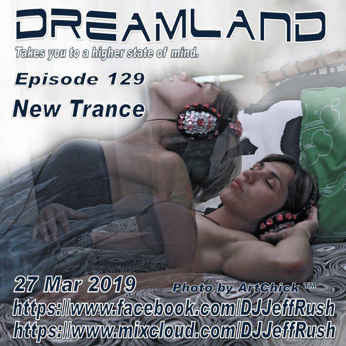 Album Cover - Dreamland Distribution #129 - Jeff Rush