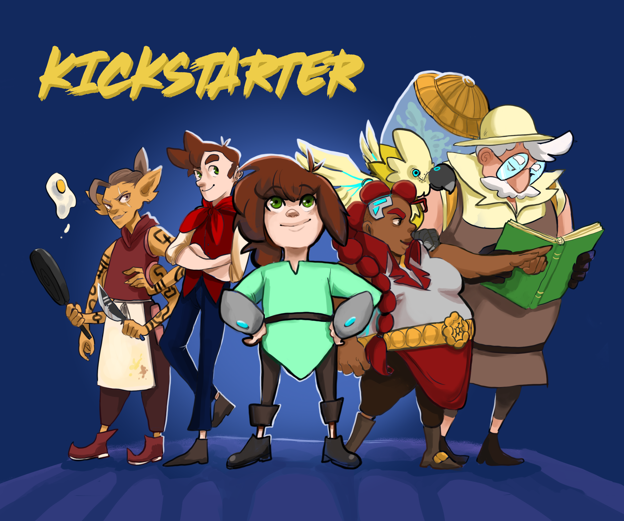 Our Kickstarter is funded!