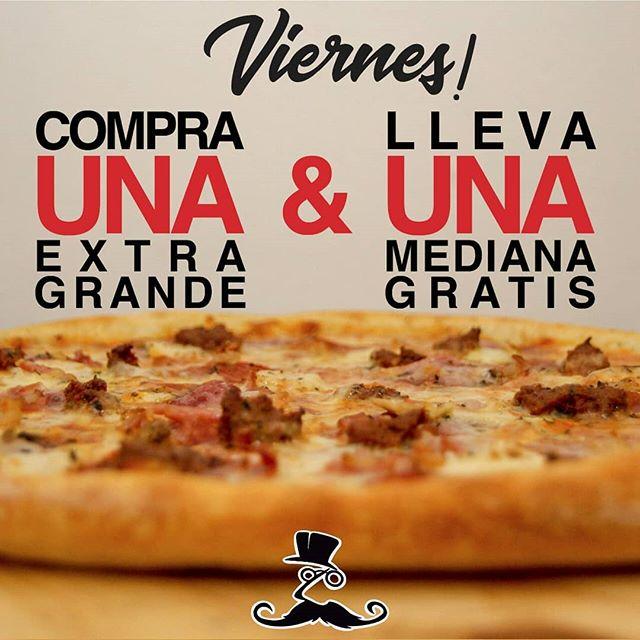 VIERNES en @jaimitosgringo 👨🏽🍳. Ordena online aquí: (después 5pm) 🍕 eatinmanta.com/domicilio ⬇️ Recibe gratis 🙊1 PIZZA 🍕 MEDIANA de los mismos ingredientes por la compra de 1 PIZZA EXTRA GRANDE para disfrutarla con tus 🤙🏼panas (o para ti solito…. eso depende de ti)😉.. . . ♨FRIDAY's at @jaimitosgringo .  Receive 1 MEDIUM PIZZA 🍕 for free with the purchase of 1 EXTRA LARGE PIZZA of the same ingredients! Enjoy it with the whole crew (or keep it for yourself ... it's up to you). 😉 . . . . *PROMOCIÓN APLICA*: Mostrando esta publicación en el restaurante y pedido a domicilio a www.eatinmanta.com  No incluye valor a domicilio. . . *PROMOTION RULES*: Must show this promotion in the restaurant and if order online www.eatinmanta.com . . . #pizza #eatinmanta #bestpizzeria #delicious #mantaestodo #mantaec #jaimitosgringo #bestinmanta #pizzalover #foodie #cheese #ecuador #restaurantec #friday #foodporn #promotion #mantameencanta #manabiestodo #artisenalpizza #mantarestaurant #descuentos #mantaestodo #fridaypromo #promociones #viernes #foodie #amor
