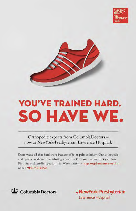 Lawrence Hospital Orthopedic Medicine: print