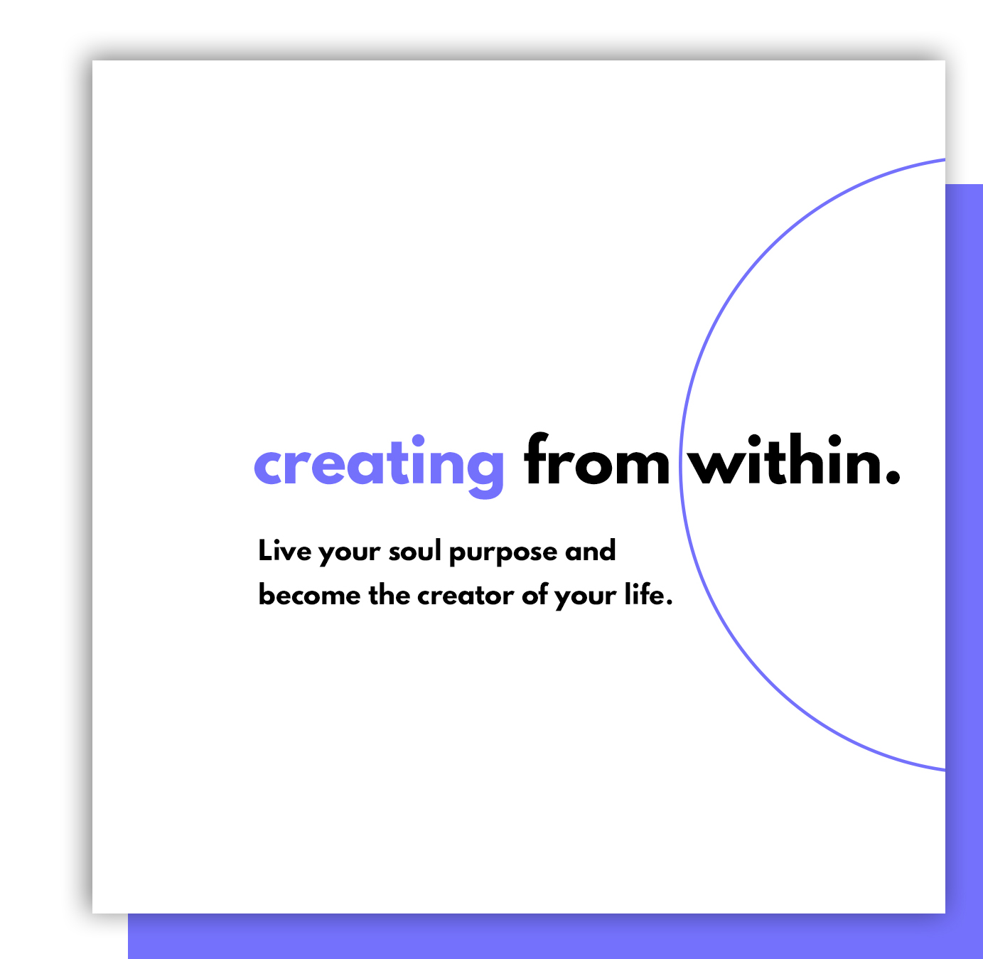Creating From Within Podcast