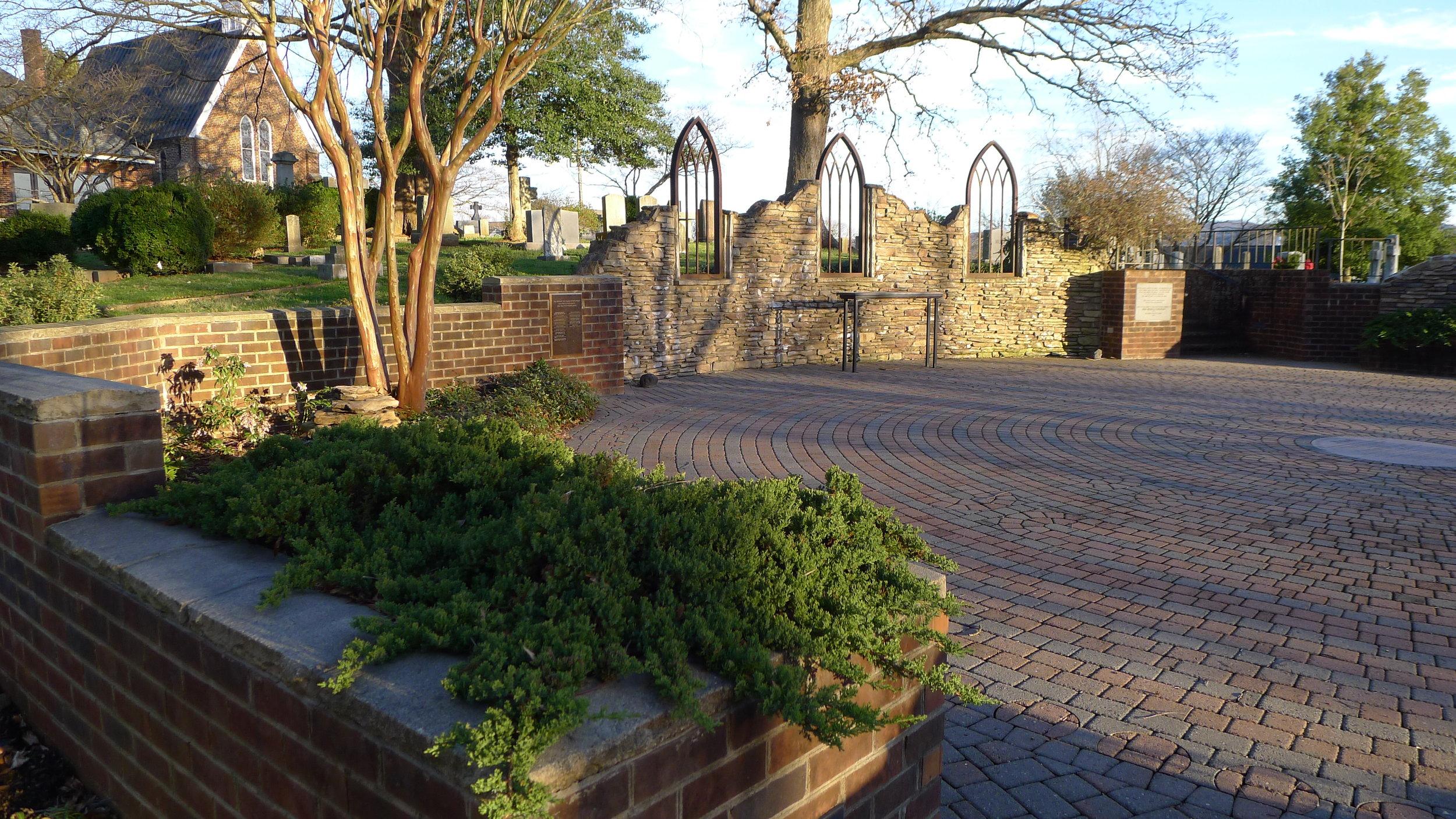 Photo by Sheree Sloop: Labyrinth @ St. Paul's, Wilkesboro