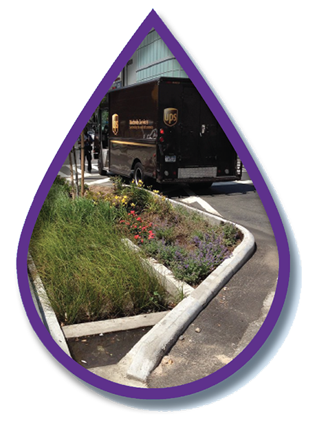 Showcase sustainable and multi-benefit transportation and stormwater infrastructure. -