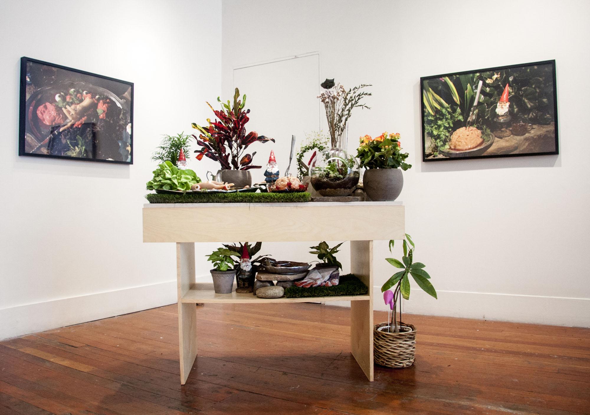Garden Party: Post-Gnome Apocalypse, installation view