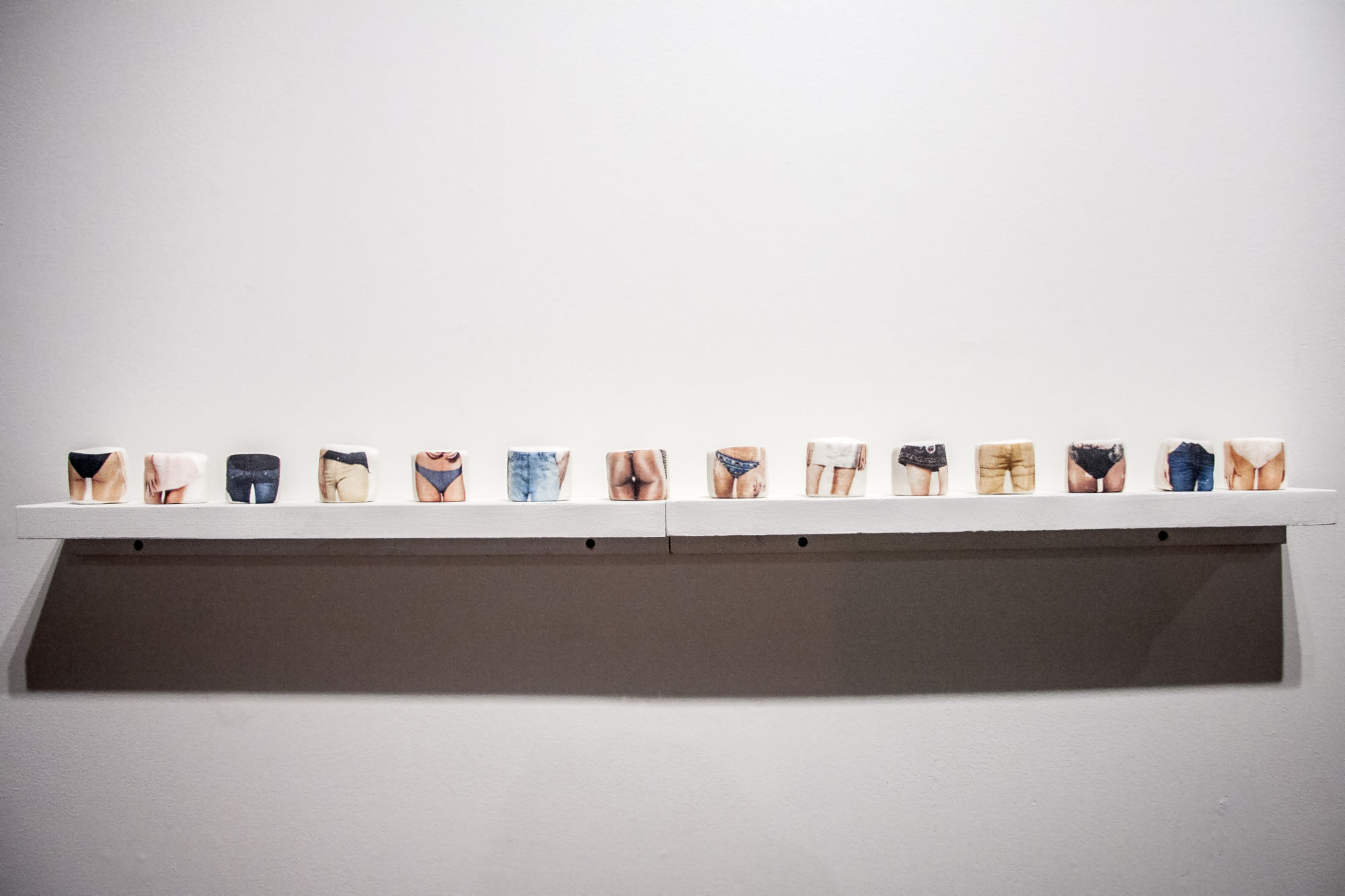 Fat Free, installation view
