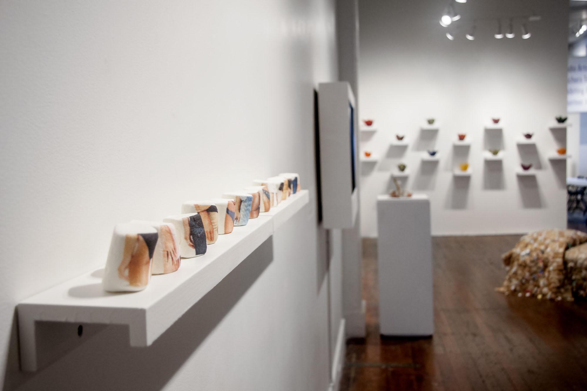 Gallery installation view from Salt Licks