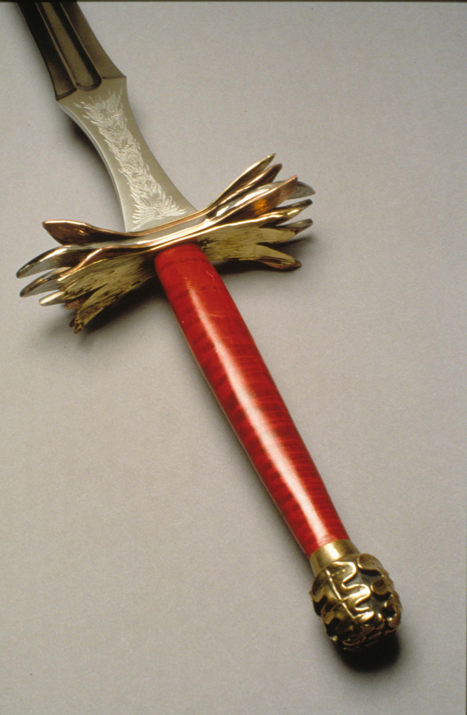 Sword of Geburah, detail