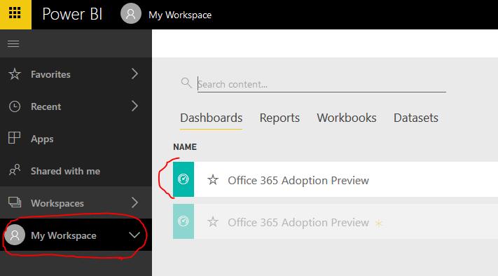 Office 365 analytics
