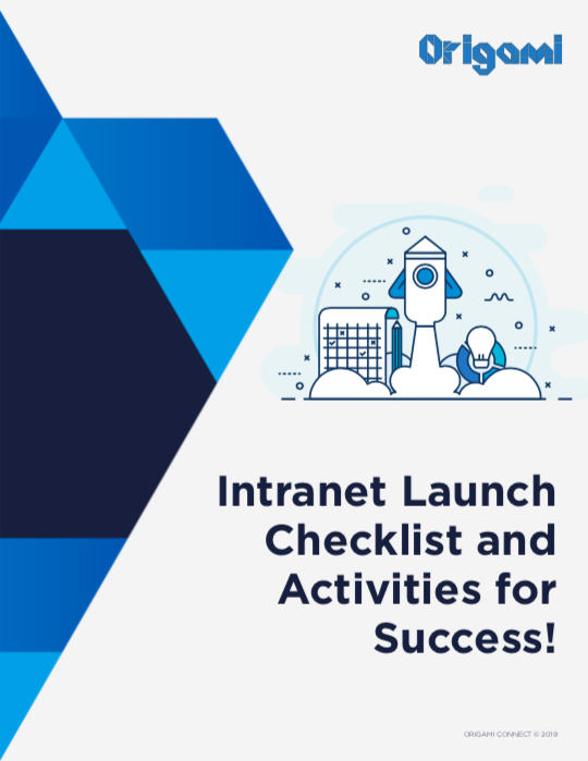 Free Intranet Launch Checklist! - Your Office 365 intranet launch is a vital stage of your intranet project for getting user buy-in and generating excitement for the new platform.We've compiled a FREE Intranet Launch Checklist to walk you through the steps for a successful intranet launch >>