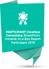 Clearbox Consulting SharePoint Intranet-in-a-Box Report Participant 2019.png