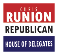 LOCAL EXPERIENCE - Chris Runion is a longtime Republican, small business owner, and community leader from Rockingham County. Born and raised in the Shenandoah Valley.