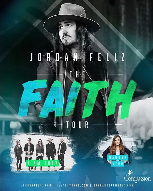 IT'S TRUE! We're hitting the road this fall with Jordan Feliz and Hannah Kerr starting October 9! Get your tickets at iamtheyband.com/tour or click the link in our bio!